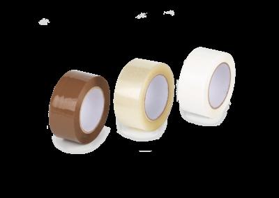 Cinta adhesiva solvent / acrílica / hotmelt / PVC